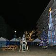 JR南小泉仮設住宅クリスマス会