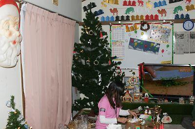クリスマスツリー(JR南小泉仮設住宅)