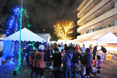 JR南小泉仮設住宅クリスマスパーティ