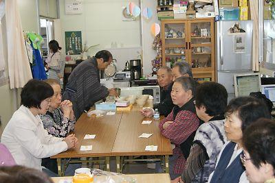 JR南小泉仮設住宅お茶会